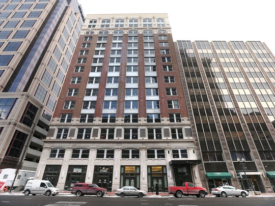 The Consolidated Building, vacant for 15 years, is being converted to an apartment/hotel/retail complex.