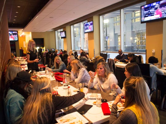 Patrons enjoy dinner at Formosa on Feb. 25.