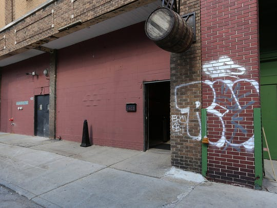 This Sept. 16, 2014, photo shows the Detroit City Distillery in Detroit. Founded by a group of friends from Bath, Mich., Detroit City opened last month in what was once a slaughterhouse and meat-packing facility. (AP Photo/Detroit Free Press, Jessica J. Trevino)