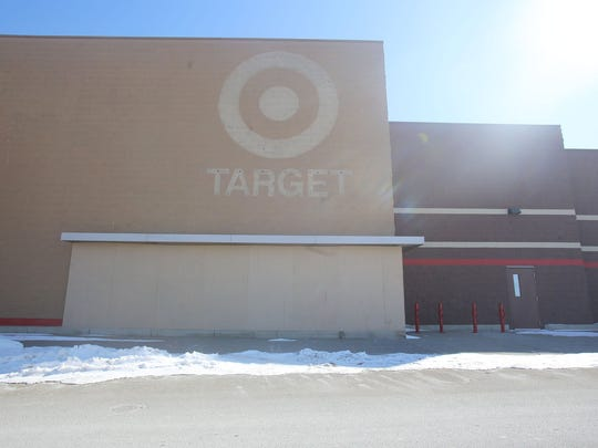 Northland Center's next-to-last anchor store, Target, is already closed and boarded up. The mall is now more than half empty.