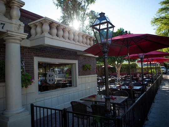 The New restaurant and bar, Kelly's, is located in Old Town Scottsdale, at SouthBridge. November 6, 2014 in Scottsdale.