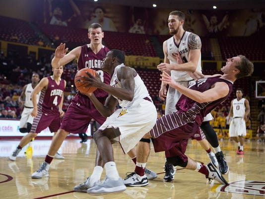 ASU Basketball Takes on Colgate
