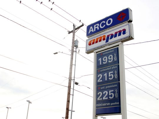 Gasoline is less than $2 a gallon at the ARCO gas station on Market St. NE and Lansing Avenue in Salem on Wednesday, Jan. 14, 2015.