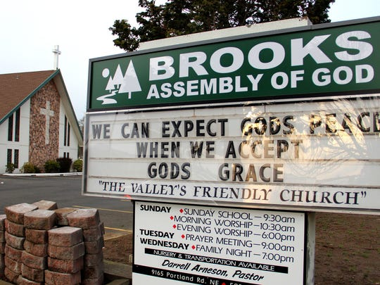 Peter Bass, a youth pastor with the Assembly of God Church in Brooks, Ore., was arrested on charges of sexual assault on Wednesday, Jan. 21, 2015.