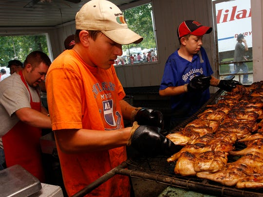 The Crane Broiler Festival pays tribute to the town's past, when the area bustled with poultry-raising businesses.