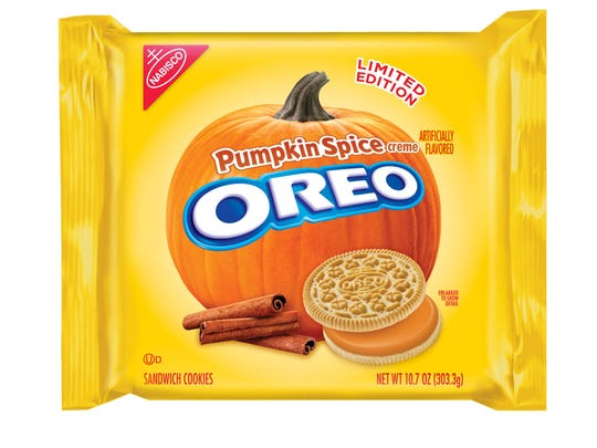 Just in case you aren't getting enough pumpkin spice