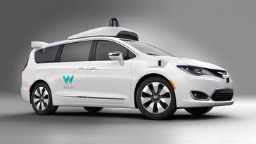 FCA provides Waymo with vans for self-drive tests