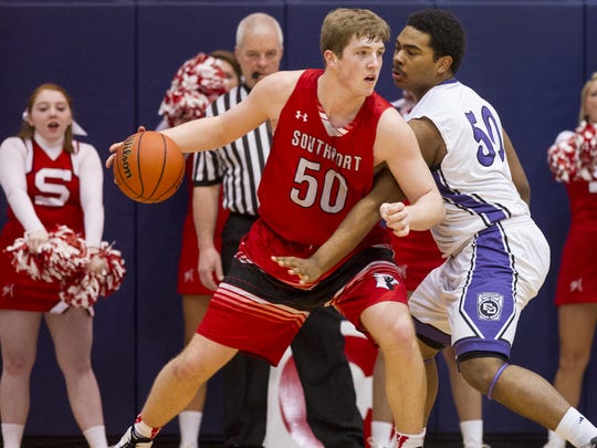 Southport's Joey Brunk will stay close to home for college.