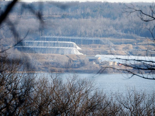 The Cargill salt mine sits on the east shore of Cayuga Lake in Lansing. Seventeen salt mine workers were trapped after an elevator malfunctioned a few minutes before 10 p.m. Wednesday. By 8:30 a.m., all workers had been rescued.