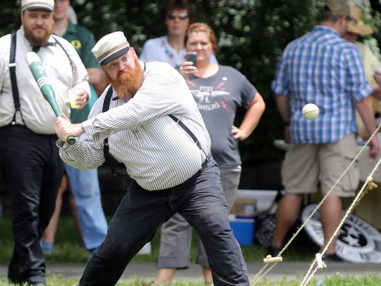 The Tennessee Association of Vintage Baseball plays