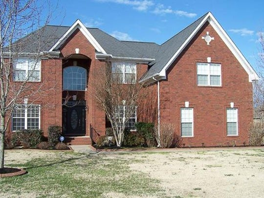 This house, at 1407 Stewart Creek Road in Murfreesboro, was built in 2006 and has 3,541 square feet.
