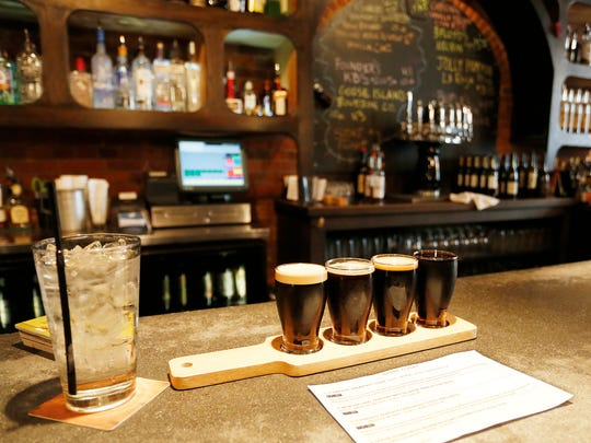 For those who enjoy stout beers, the Stout Flight Tuesday,
