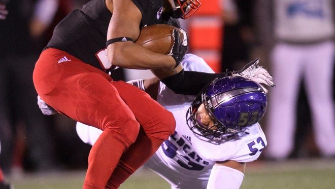 Southern Utah University competes against Weber State at Eccles Coliseum Saturday, November 10, 2018.