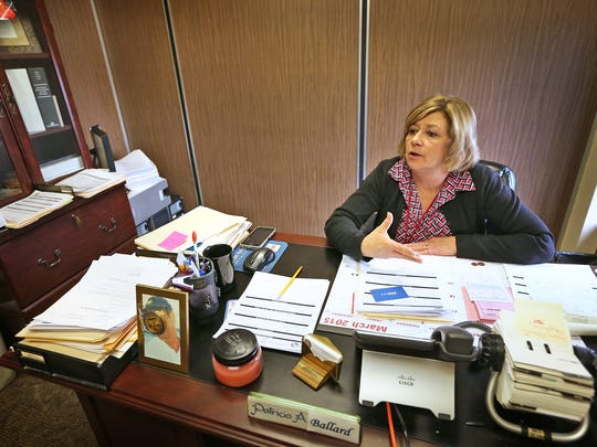 """Patricia """"Patti"""" Ballard is director of the Adult Protective Services unit for Clark, Floyd, Harrison and Scott counties."""
