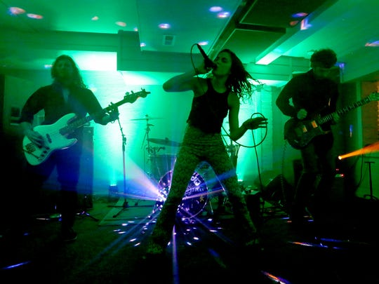 Fortune's Folly performs at the Space Concert Club in West Salem on Friday, Nov. 18, 2016.