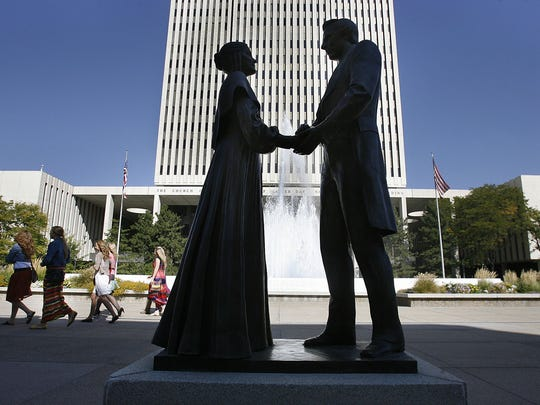 """""""Saints: The Standard of Truth"""" covers early LDS Church history from 1815 to 1846, including the lives of Emma and Joseph Smith."""
