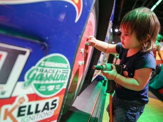 Racing Day at The Children's Museum is Saturday, May