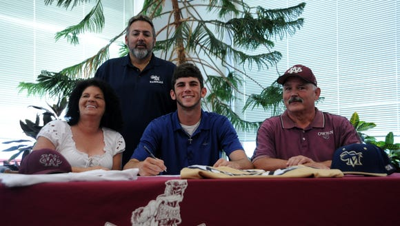 Owen senior Brian Bartlett has signed to play college