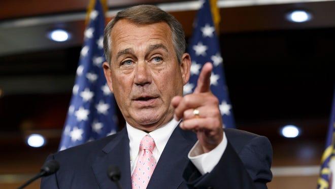 House Speaker John Boehner, R-Ohio, led the charge to file suit against President Obama.