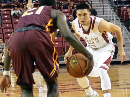 New Mexico State's Joe Garza has given the Aggies valuable
