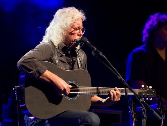 Arlo Guthrie will perform at the Egyptian Room at Old