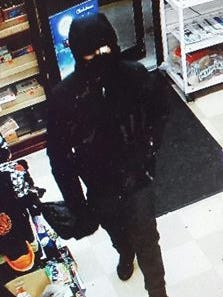 Police say the robber in this photo is a Cinnaminson teenager they arrested last week.