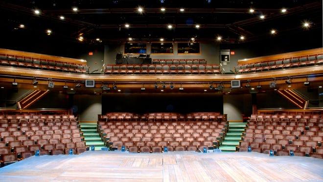 Geva Theatre Center's mainstage.