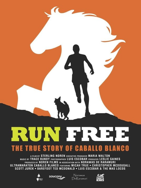 Run Free JPEG Poster Large
