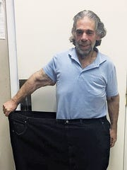 Marc Silverberg after losing 220 pounds.