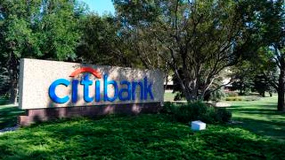 citibank along 60th Street North in Sioux Falls.
