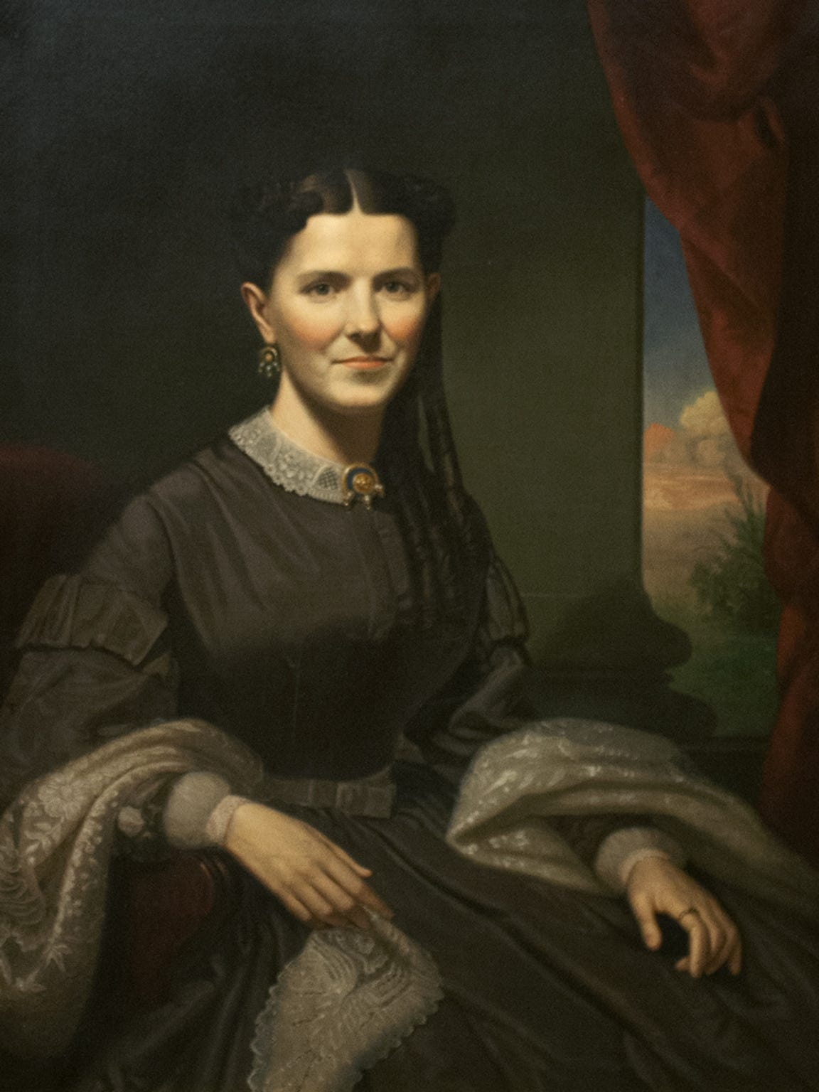 "In 2014, Springfield Art Museum launched an alternate-reality game with fictional scenarios in which paintings like George Caleb Bingham's ""Portrait of Fanny Smith Crenshaw"" went missing."