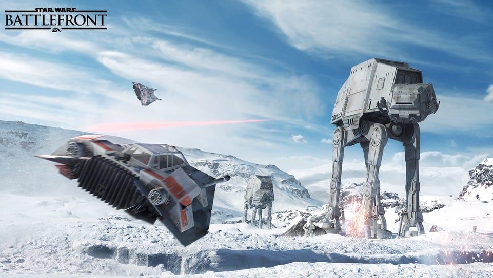 Screenshot of Star Wars Battlefront: