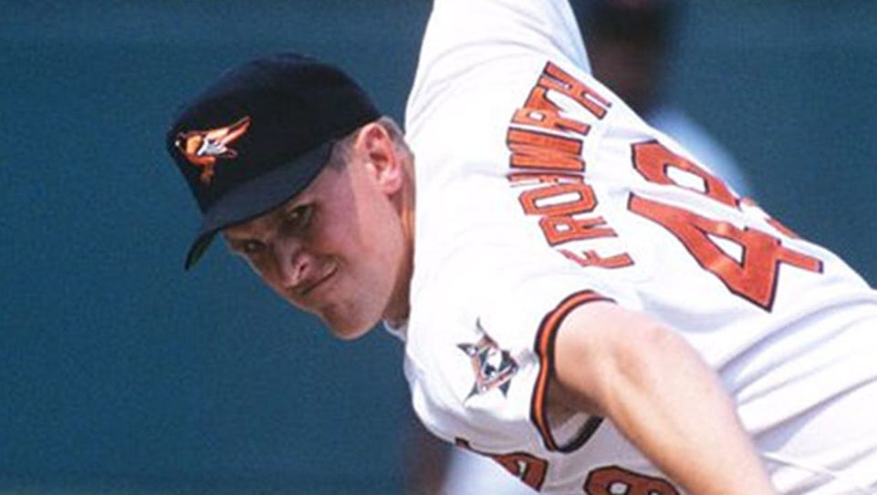 Former Baltimore Orioles reliever Todd Frohwirth has