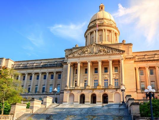 Kentucky Capitol Frankfort