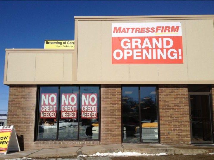 mattress firm building. Mattress Firm Building T