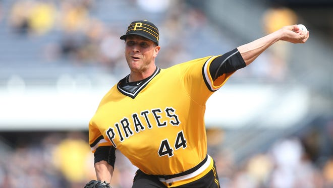 Tony Watson is 5-3 with a 3.66 ERA in 47 games for the Pirates this season.