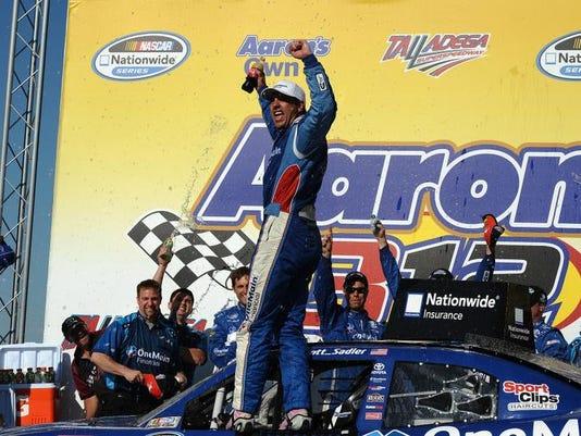 APTOPIX NASCAR Nationwide Auto Racing