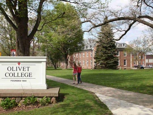 The Olivet College campus.