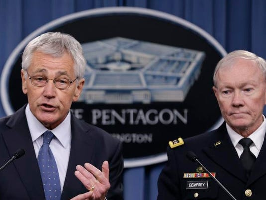 Hagel Defense Budget