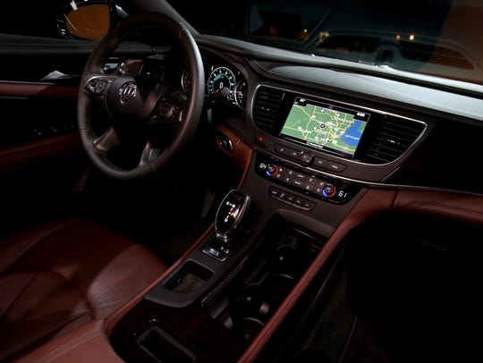 The interior the all-new 2017 Buick LaCrosse has many