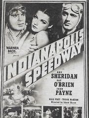 Advertisement for Indianapolis Speedway
