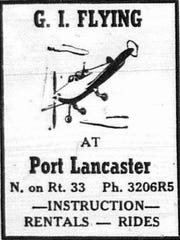 This ad ran in the April 7, 1947 Eagle-Gazette.