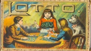 Lotto, McLoughlin Brothers, about 1890.