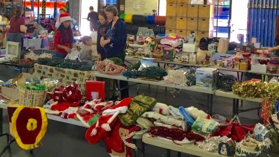 Chandler residents, who are members of the Living Chandler Facebook group, held a holiday drive for families in need.