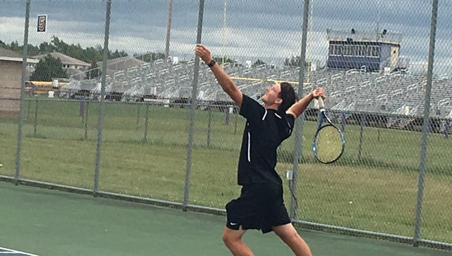 Adam Caplin returns to Pinckney as its No. 1-singles player and the first-ranked player in Livingston County.