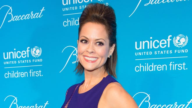 Brooke Burke-Charvet attends the Tenth Annual UNICEF Snowflake Ball in New York on Dec. 2, 2014.