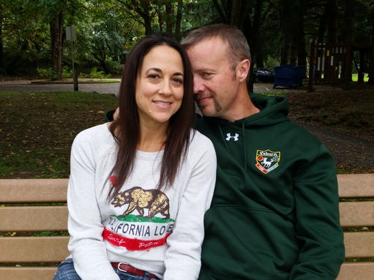 Michelle Green, 45, and Matt Barnhart, 42, of Salem.