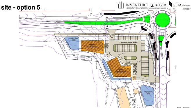 The updated planned unit development southwest of the intersection of Cooper Avenue South and 33rd Street South.
