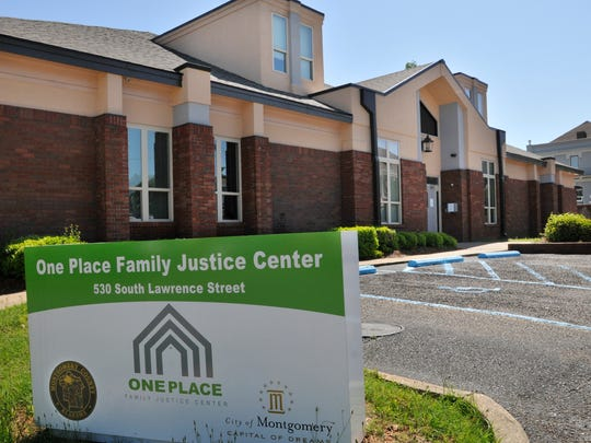 One Place Family Justice Center in Montgomery.