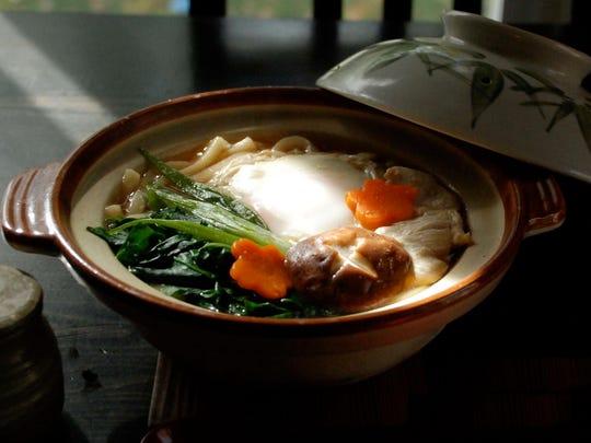 Nabeyaki udon at Gomen-Kudasai in New Paltz